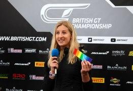 VISIBILIDADE: Charlie Martin será a primeira competidora trans corrida de Le Mans