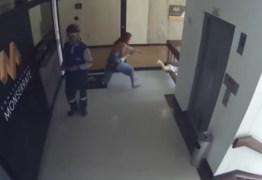 Mãe salva filho de queda do quarto andar de prédio – VEJA VÍDEO