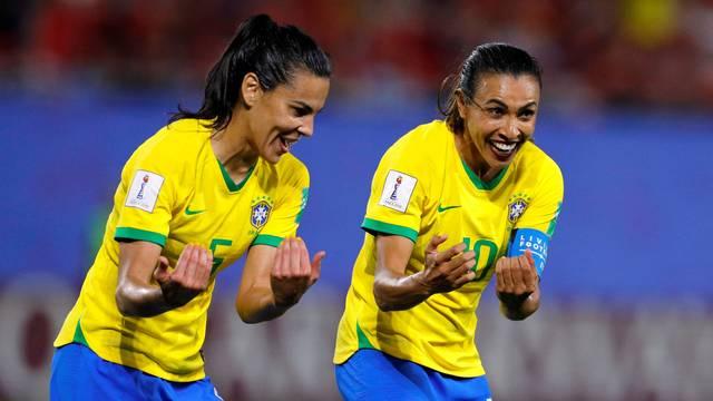 2019 06 18t203856z 1268554928 rc1653802d80 rtrmadp 3 soccer worldcup ita bra kGmfehr - COPA DO MUNDO FEMININA: Brasil bate Itália e avança para as oitavas de final