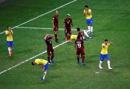 Brasil empata sem gols com Venezuela