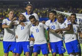 Brasil estreia na Copa América com vitória de 3 a 0 sobre a Bolívia