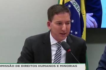 20190625160624 9e2f60c2 c398 47d7 8b44 eed6030059e4 - 'Não vamos entregar material para perícia da PF controlada por Moro', diz Greenwald em audiência na Câmara - VEJA VÍDEO