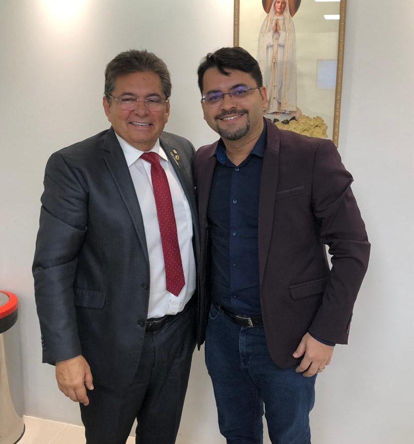 7a7cbaf5308cc38c955b407da2d459ce e1560364401654 - COMPROMISSO: Berg Lima se reúne com presidente da ALPB Adriano Galdino e sela aliança