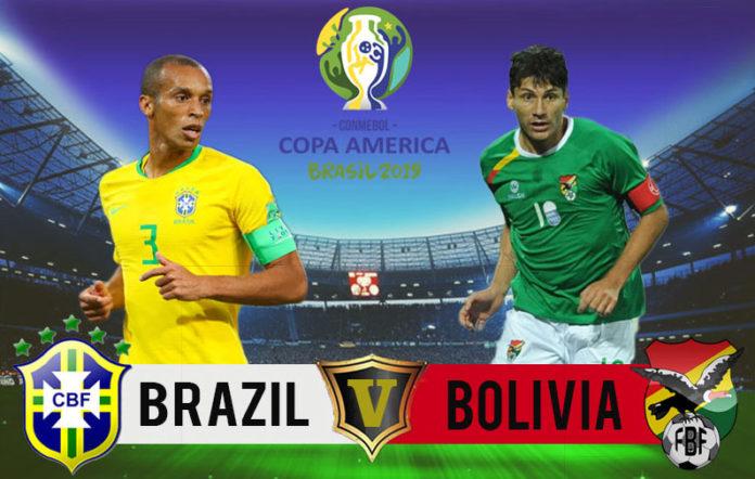 COPA AMÉRICA: Brasil enfrenta Bolívia nesta sexta-feira e abrem torneio em São Paulo