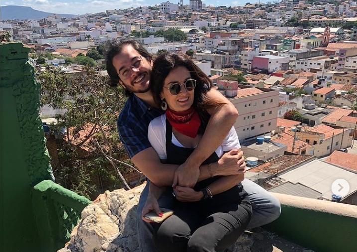 Capturar 59 - Túlio Gadêlha e Fátima Bernardes curtem festa junina juntinhos