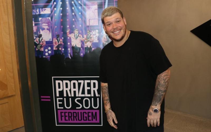 Ferrugem Crédito Rogério Fidalgo AgNews WEB - Ferrugem abandona show após público arremessar objetos no palco - VEJA VÍDEO