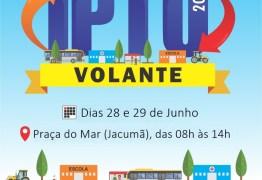 Prefeitura de Conde inicia nesta sexta-feira, as ações do 'IPTU Volante'