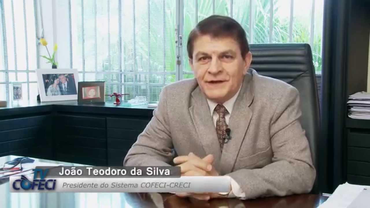 João Teodoro - Cadastro automático é elogiado pelo Sistema Cofeci-Creci e mercado imobiliário comemora
