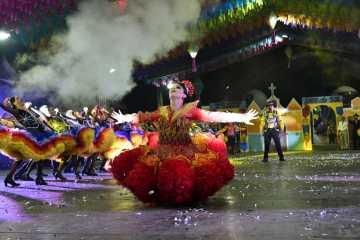 RaiodoSol1 - Junina Raio do Sol conquista o Festival Santa-ritense de Quadrilhas