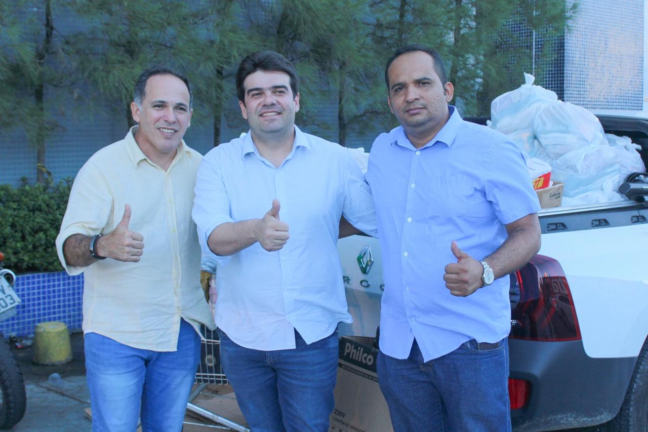 ab4a8a7b e6a9 42e1 960c f872e2310279 - Eduardo entrega doações para desabrigados das chuvas em diversas regiões de João Pessoa