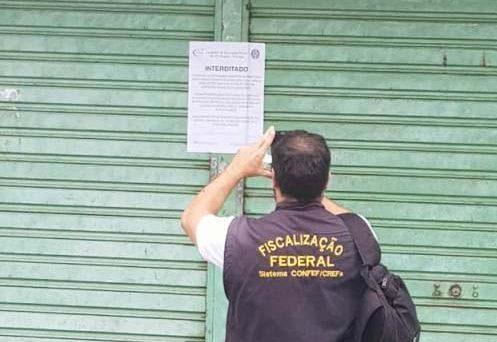 ILEGAL: Conselho Regional de Educação Física interditou duas academias e fiscalizou mais de 30