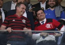 HOMENAGEM: Ao lado de Bolsonaro, Moro é aplaudido em jogo do Flamengo