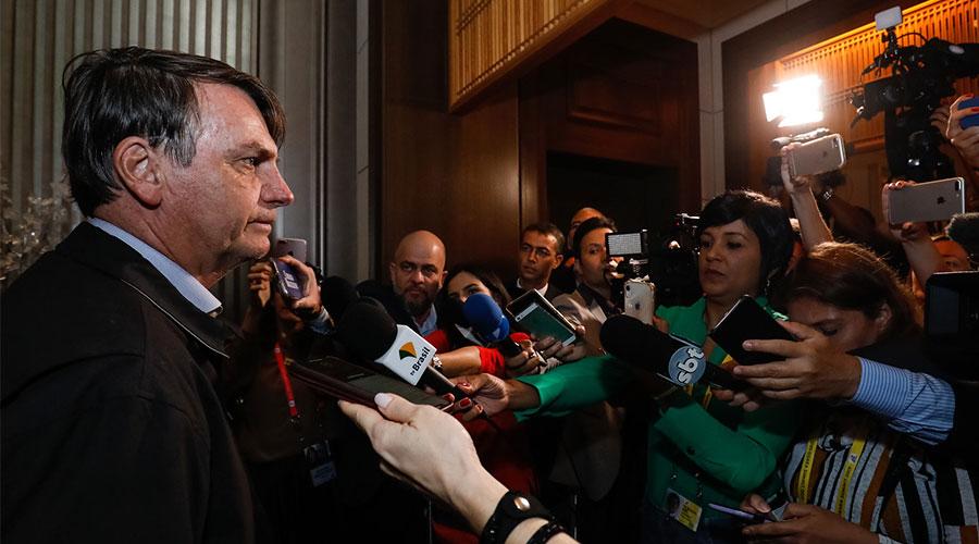 bolsonaro japao - No Japão, Bolsonaro se irrita com jornalistas e se cala sobre os 39 Kg de cocaína no avião da comitiva presidencial