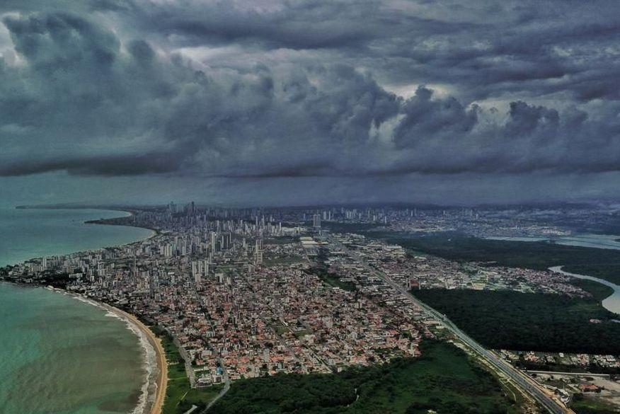 chuvas em joao pessoa foto clilson junior - Alerta de acumulado de chuva é renovado pelo Inmet para 105 cidades da Paraíba