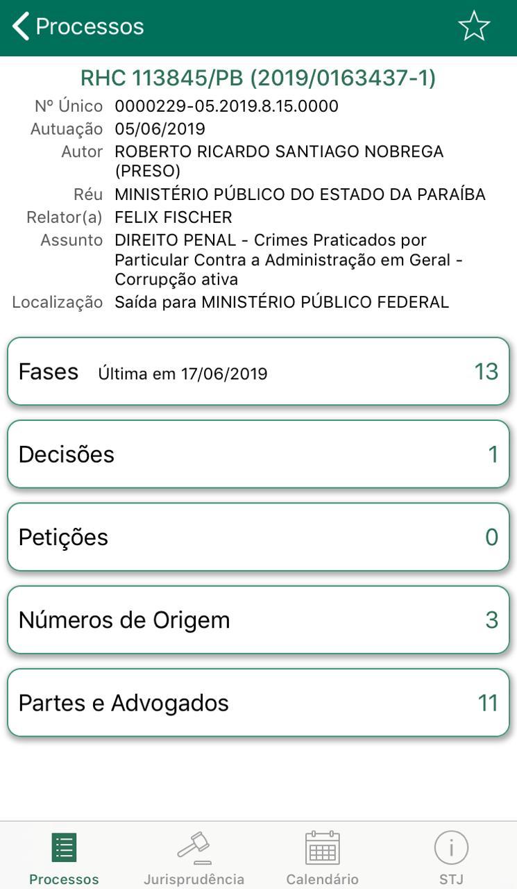 d734f773 d9e1 46b9 95ec 6438051ce89a - EXCLUSIVO: Felix Fischer julga recurso de habeas corpus de Roberto Santiago, preso da Xeque Mate; saiba o resultado
