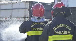 FOGO: Princípio de incêndio atinge hipermercado, em Campina Grande