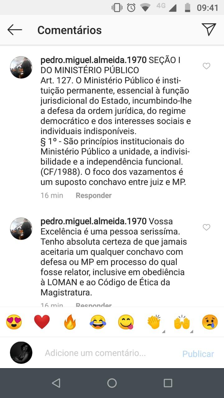 e68c6801 e17e 4bc2 91da 4c932d169955 - Presidente do TJPB sai em defesa de Sérgio Moro nas redes sociais e advogado o confronta