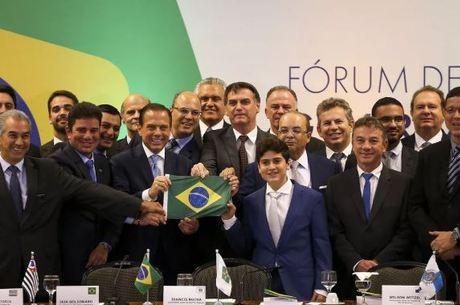 governadores bolsonaro 10062019170441262 - PREVIDÊNCIA: Governadores se reúnem em Brasília para debater reforma; Lígia vai representar João Azevêdo