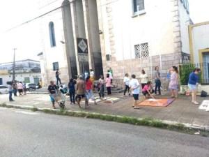 igreja 300x225 - CORPUS CHRISTI: Católicos montam tapetes para celebrações da data em JP