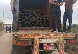 12 HOMENS E UM FURTO: Operação prende grupo suspeito de furtar trilhos de trem na Paraíba
