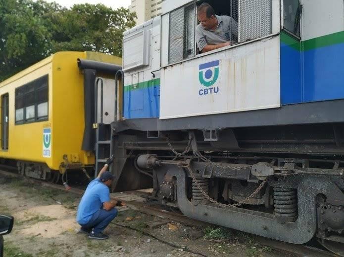 Trem do Forró descarrila em Campina Grande; CBTU emite nota