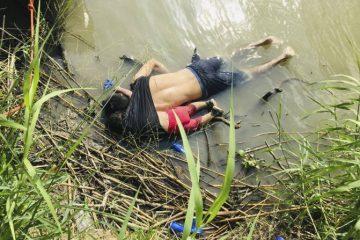 imigrantes salvadorenhos e1561551494701 - A foto que chocou o mundo: pai e filha bebê morrem afogados na fronteira mexicana