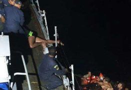 RESGATE: Marinha do Brasil salva nove pessoas após naufrágio nas proximidades do litoral de João Pessoa