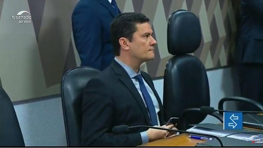 moro ccj - ACOMPANHE AO VIVO: Em audiência na CCJ do Senado, Moro explica mensagens divulgadas por site