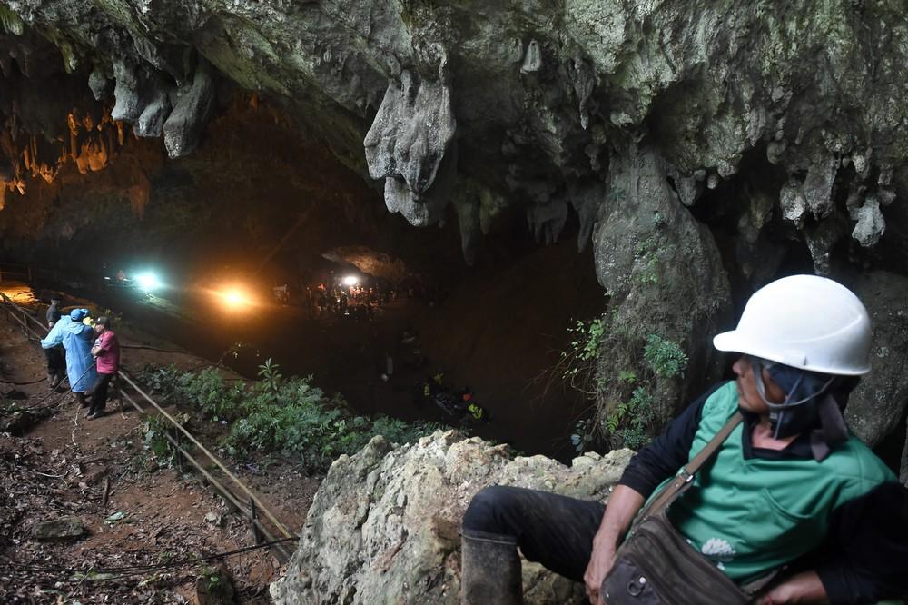 thailand accident weather 000 16p2ss lillian suwanrumpha afp - Um ano após resgate, 'meninos da caverna' participam de corrida