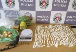 Polícia apreende drogas que traficantes esconderam em posto de saúde da Zona Sul da Capital