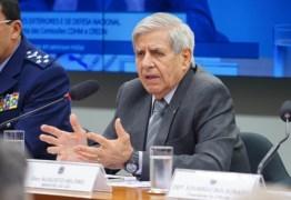 General diz ter 'vergonha' de receber R$ 19 mil por mês