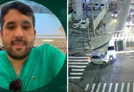 VÍDEOS MOSTRAM ELE BEBENDO: Polícia confirma identidade do motorista que causou acidente na Epitácio