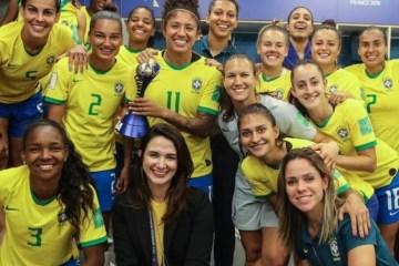 2 michelle reproducao instagram 1  - CBF triplica premiação da seleção, e cada jogadora vai receber R$ 120 mil por campanha na Copa