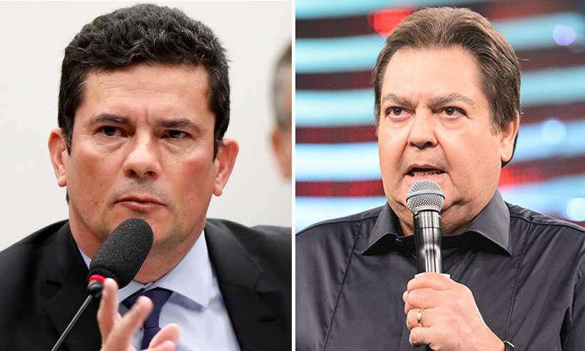 20190705102438839838a - Fausto Silva aparece em conversas entre Moro e procuradores divulgadas pela Veja