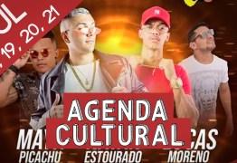 AGENDA CULTURAL: Fique por dentro das atrações para curtir os melhores dias da semana em João Pessoa