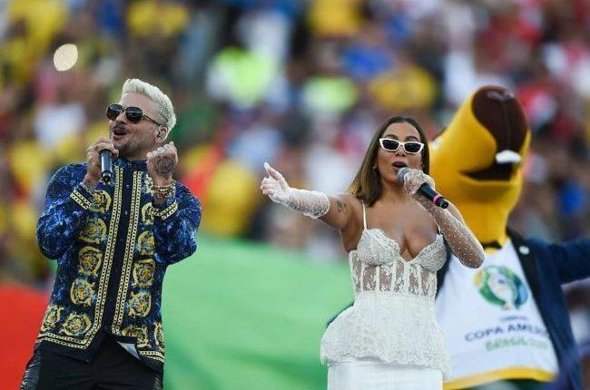 57312 24071 75561 - Anitta é critica no encerramento da Copa América: 'Chama a Ivete'