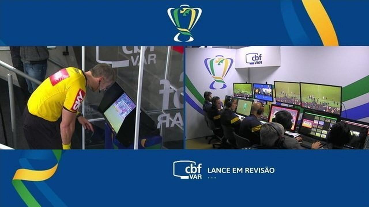 CBF altera árbitros do VAR para Flamengo x Athletico