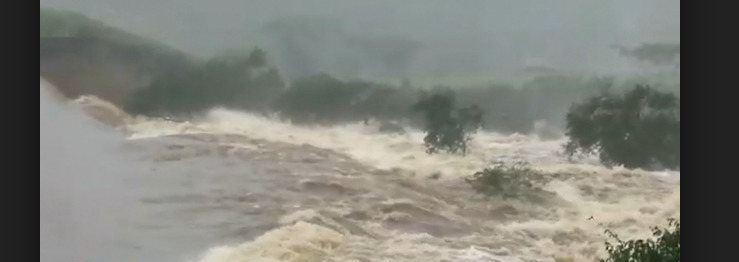 TRAGÉDIA: Barragem estoura e inunda cidade na Bahia : VEJA VÍDEO