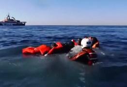 CRISE HUMANITÁRIA: Mais de 100 migrantes desaparecem após naufrágio na Líbia