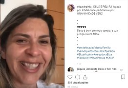 Emocionada, Eliza Virgínia comemora vitória no TRE em ação de infidelidade partidária; VEJA VÍDEO