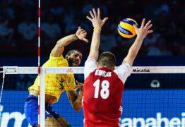 VOLÊI: Brasil perde para a nova geração polonesa na Liga das Nações