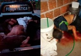IMAGENS CHOCANTES: Cinco suspeitos morrem após ação policial, policiais alegam que foram recebidos a bala