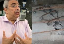 'AQUILO NÃO É ENGENHARIA': Presidente do CREA-PB enumera problemas com prédio que desabou em João Pessoa – VEJA VÍDEO