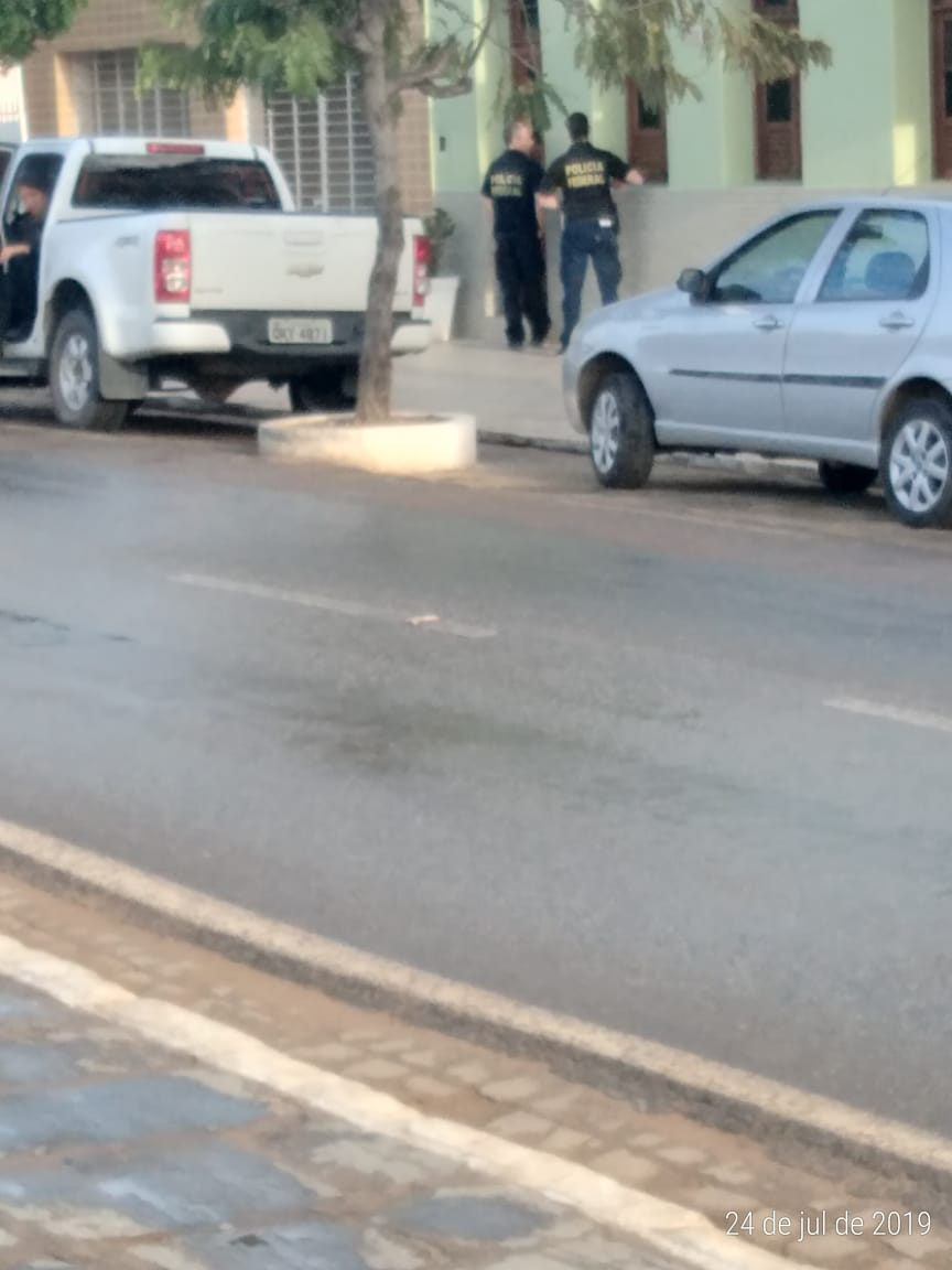 WhatsApp Image 2019 07 24 at 07.17.14 - Polícia Federal deflagra operação e cumpre mandados judiciais contra servidores da gestão de Romero Rodrigues - VEJA VÍDEO