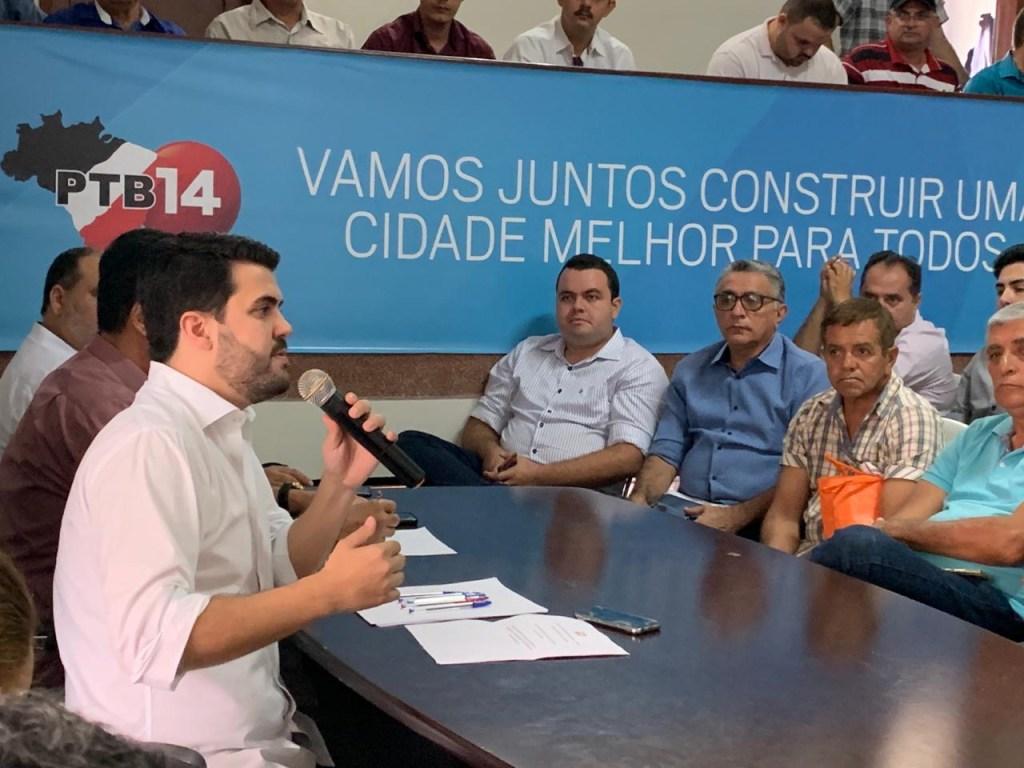 a3d0db1b 738e 4728 836f 68cdfb339f82 1024x768 - Executiva estadual do PTB se reúne para discutir convenção e agenda do partido