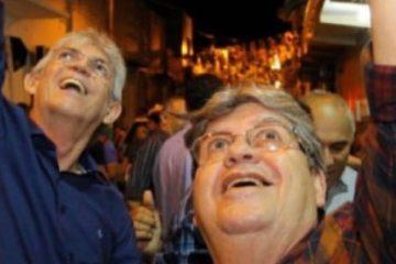 contrariando outdorrs e1562679423848 - Contrariando os Outdoors! – João Azevedo e Ricardo Coutinho fecham com o partido contra a Reforma da Previdência! - Por Francisco Aírton