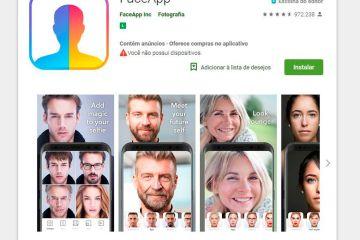 face app - PERIGO: aplicativo FaceApp pode abrir porta para abusos com dados dos usuários
