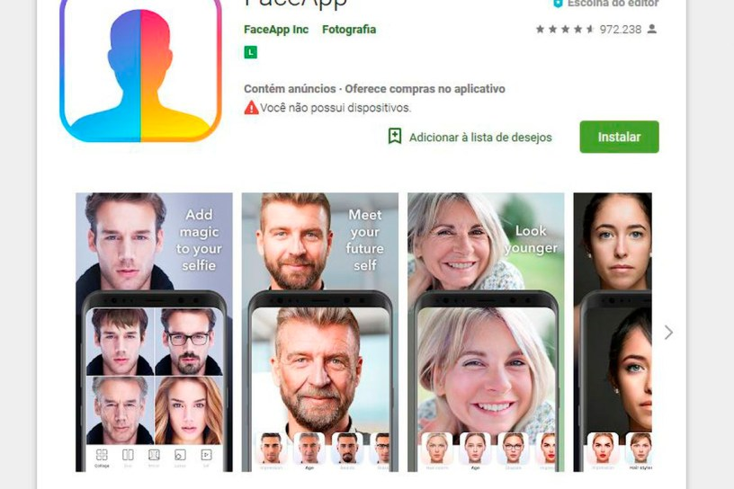 face app 300x200 - PERIGO: aplicativo FaceApp pode abrir porta para abusos com dados dos usuários
