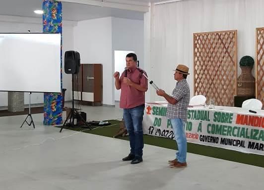 Presidente da Famup participa do 1º Seminário Estadual Sobre Mandioca