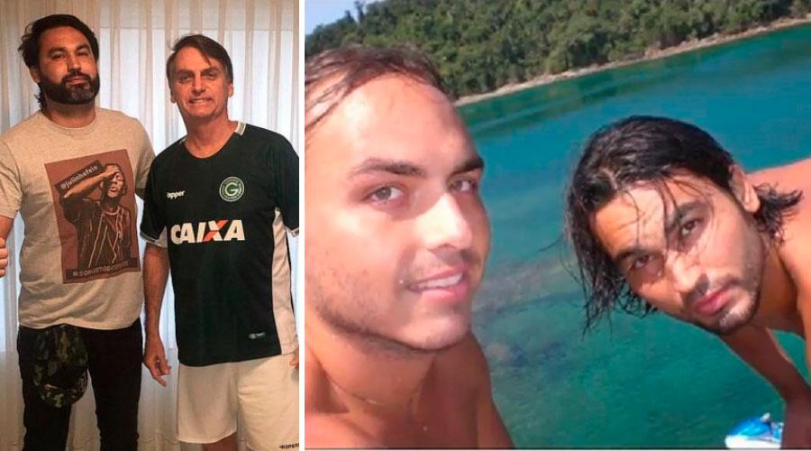 leo indio carlos bolsonaro - Léo Índio, primo de Carlos Bolsonaro, monta 'comando de caça a comunistas' particular e faz dossiês para o governo